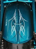 Rear Fender OLD SCHOOL PINSTRIPING