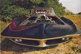 1963 Corvette Radical Custom Injected & Supercharged, ISCA Winner